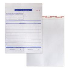 Patient Valuable Form And Paper Envelope