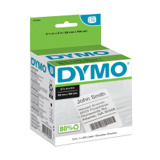 DYMO White LabelWriter Shipping Labels 1763982