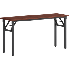 Lorell Folding Training Table Melamine Top