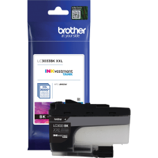 Brother Genuine LC3033BK Single Pack Super