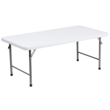 Flash Furniture Kids Plastic Folding Table