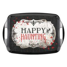 Amscan Melamine Halloween Happy Haunting Trays