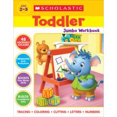 Scholastic Toddler Jumbo Workbook Preschool