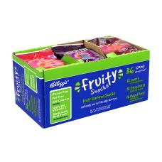 Kelloggs Fruit Flavored Fruity Snacks 25