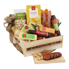 Givens Meat And Cheese Gift Crate