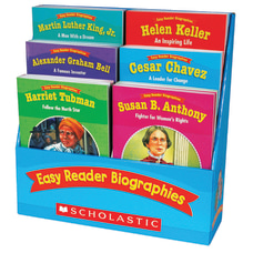 Scholastic Teaching Resources Easy Reader Biographies