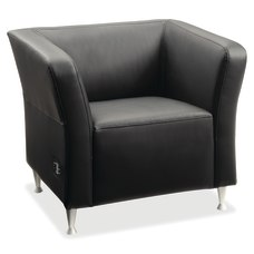 Lorell Fuze Modular Bonded Leather Lounge
