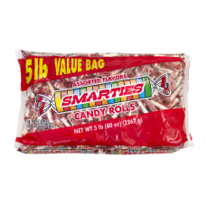 Smarties Wrapped Candies 5 Lb Box
