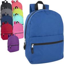 Trailmaker Solid Backpacks Assorted Colors Pack