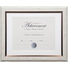 Dax 2 tone Bronze Document Frame