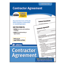 Adams Contractor Agreement
