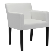Zuo Modern Franklin Dining Chair WhiteBlack