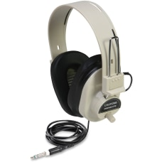 Califone Ultra Sturdy Stereo Headphone W