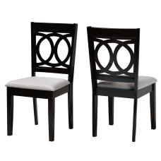 Baxton Studio 10524 Dining Chairs Gray