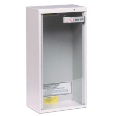 Extinguisher Cabinets Surface Mount Steel Tan