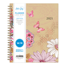 Blue Sky Polypropylene WeeklyMonthly Planner 7