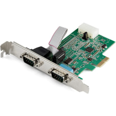 StarTechcom 2 Port PCI Express RS232