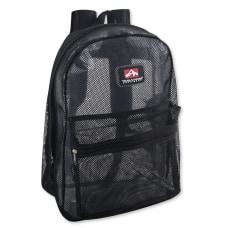 Trailmaker Mesh Backpacks Black Set Of