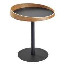 Adesso Crater End Table Square 21
