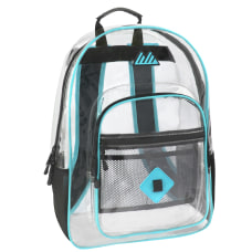 Trailmaker Clear Backpack Turquoise Trim