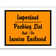 Office Depot Brand Important Packing ListInvoice