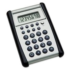 Flip Up Calculator BlackSilver AbilityOne 7420