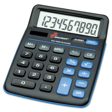 Desktop Calculator 10 Digit AbilityOne 7420