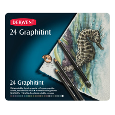 Derwent Graphitint Pencils Assorted Colors Set