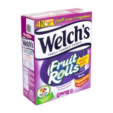 Welchs Fruit Rolls Fruit Snacks Variety