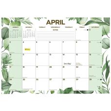 Willow Creek Press Desk Pad Calendar