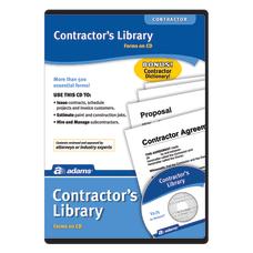 Adams Contractors Library CD