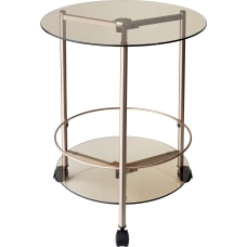 Adesso Gibson Rolling End Table 23