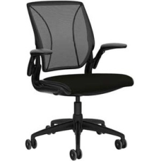 Humanscale Diffrient World Chair Black Seat