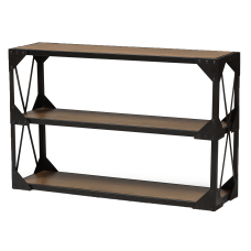 Baxton Studio Ludwig Console Table Brown