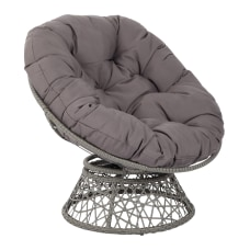 Office Star Papasan Chairs GrayGray