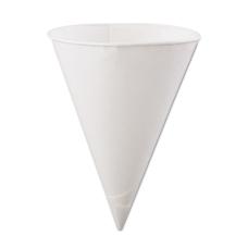 Konie Rolled Rim Paper Cone Cups