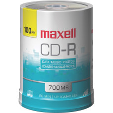 Maxell CD R Media Spindle 700MB80