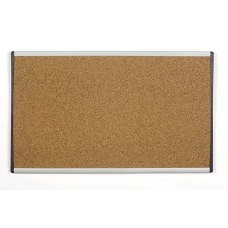 Quartet ARC Colored Cubicle Cork Bulletin