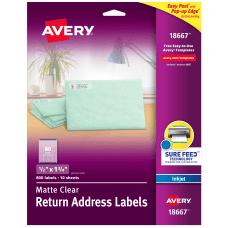 AveryR Easy Peel Return Address Labels