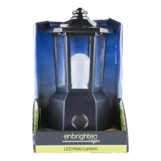 Enbrighten Carriage LED Patio Lantern 9