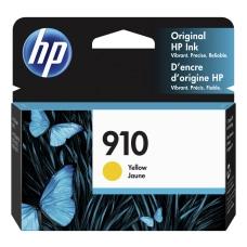 HP 910 Original Ink Cartridge Yellow