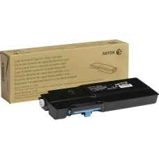 Xerox Original Toner Cartridge Cyan Laser