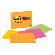 Post it Super Sticky Notes 8