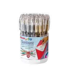 Pentel Metallic Sunburst Gel Rollerball Pen