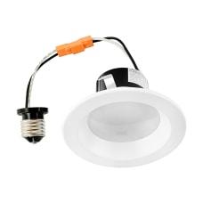 Luminoso LED Retrofit Round Downlight Trim
