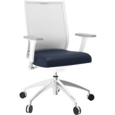 National Helio Ergonomic Task Chair MidnightWhite