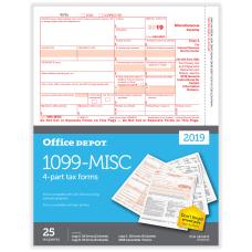 Office Depot Brand 1099 MISC Laser