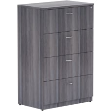 Lorell Weathered Charcoal 4 drawer Lateral