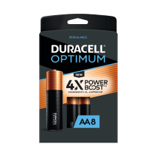 Duracell Optimum AA Alkaline Batteries Pack