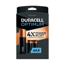 Duracell Optimum AA Alkaline Batteries Pack